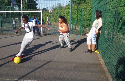 Youth Club Mini Football Match