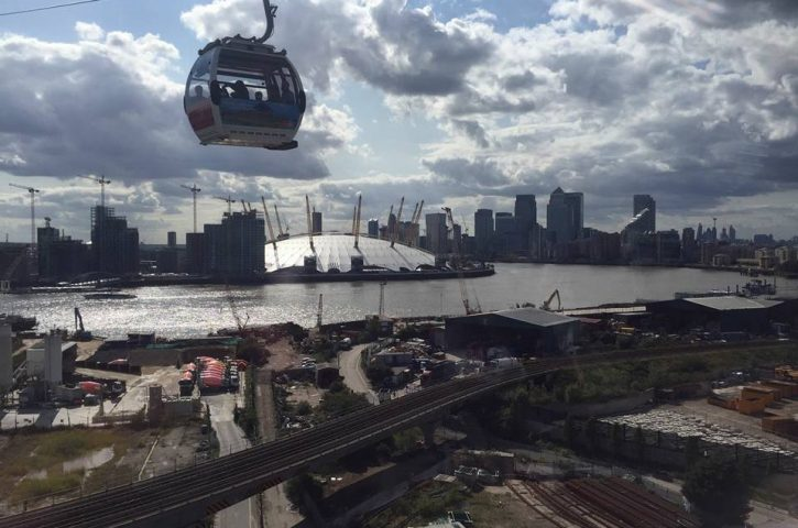 Youth Club Enjoy Emirates Cable Cars in Greenwich